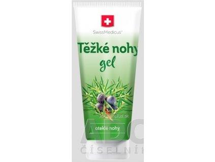 SwissMedicus Ťažké nohy gél 1x200 ml