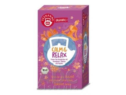 TEEKANNE ORGANICS BIO CALM & RELAX bylinný čaj 20x1,8 g (36 g)