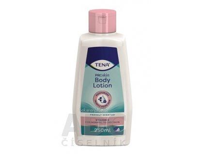 TENA Telové mlieko body lotion 1x250 ml