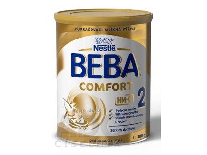 BEBA COMFORT 2 HM-O následná výživa dojčiat (od ukonč. 6. mesiaca) 1x800 g