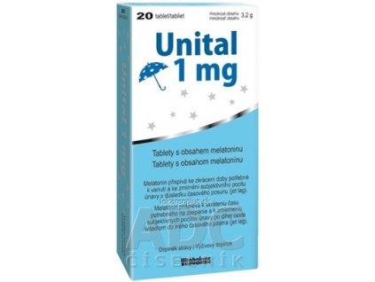 Vitabalans Unital 1 mg tbl 1x20 ks
