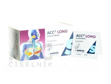 ACC LONG tbl eff 600 mg (vre.Al/papier) 1x20 ks