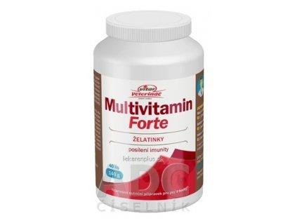 VITAR Veterinae Multivitamín Forte želatínky 1x40 ks