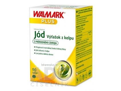 WALMARK Jód Výťažok z kelpu tbl 1x90 ks