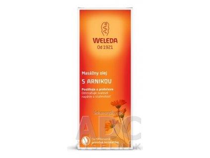 WELEDA Masážny olej s arnikou (Arnika-Massageöl) 1x100 ml