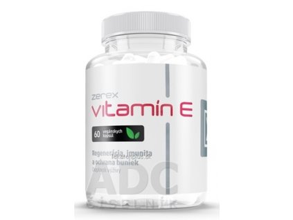 Zerex Vitamín E cps 1x60 ks
