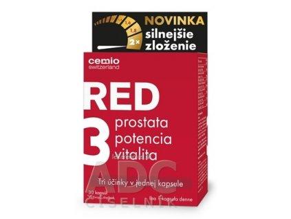 Cemio RED3 cps silnejšie zloženie 1x30 ks