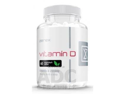 Zerex Vitamín D 2000 IU tbl 1x60 ks