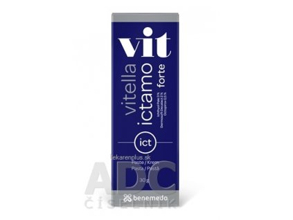 Vitella Ictamo Forte pasta s bielym ichthyolom 1x30 g