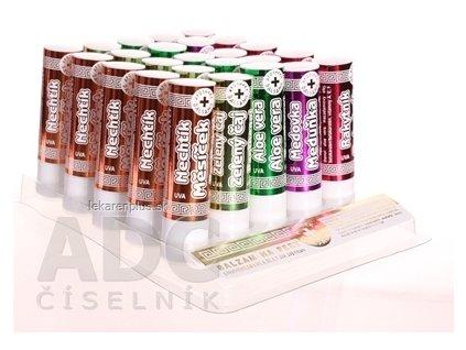 Bylinný panthenol UV Lip Stick PACK balzam na pery 1x25 ks