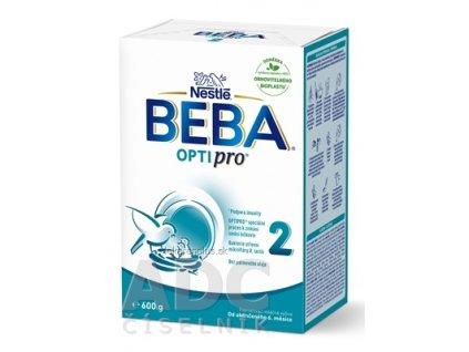 BEBA OPTIPRO 2 (inov.2021) následná mliečna výživa (od ukonč. 6.mesiaca) 1x600 g