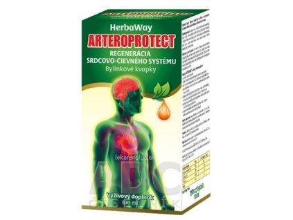 HerbaWay ARTEROPROTECT bylinkové kvapky 1x100 ml