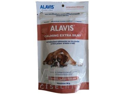 ALAVIS CALMING EXTRA SILNÝ žuvacie tablety pre psy a mačky 1x30 ks