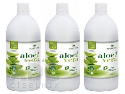Pharma Activ AloeVeraLife AKCIA šťava z aloe 99,7%, 3x1000 ml (3000 ml), 1x1 set