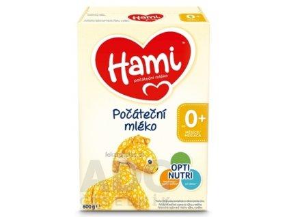 Hami počiatočné mlieko (od narodenia), počiatočná dojčenská mliečna výživa v prášku 1x600 g