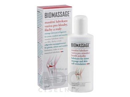 BIOMASSAGE masážny lubrikant väziva gél 1x125 ml