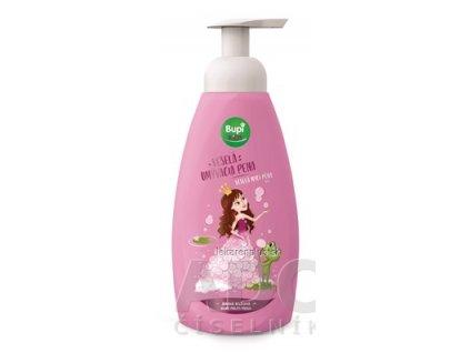 Bupi KIDS Veselá umývacia pena jemná ružová 1x500 ml
