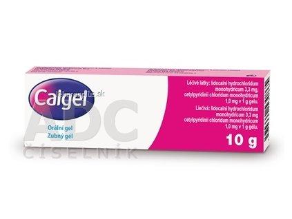 Calgel gel dnt (tuba Al) 1x10 g