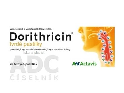 Dorithricin pas ord 1x20 ks