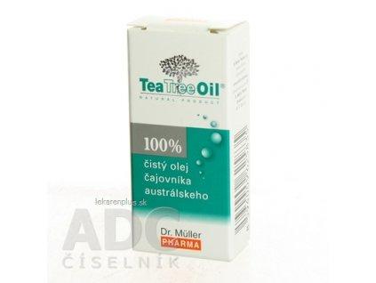 Dr. Müller Tea Tree Oil 100% čistý olej 1x10 ml
