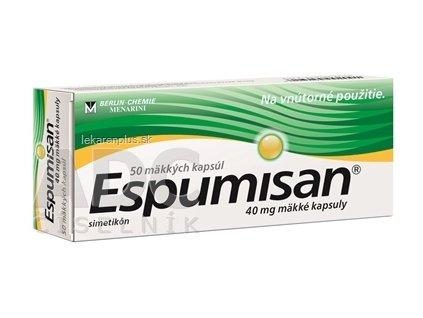 Espumisan cps 40 mg (blis.PVC/Al) 1x50 ks