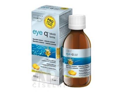 eye q tekutá forma s príchuťou citrónu 1x200 ml