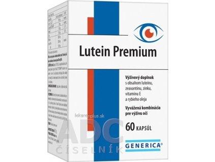 GENERICA Lutein Premium cps 1x60 ks