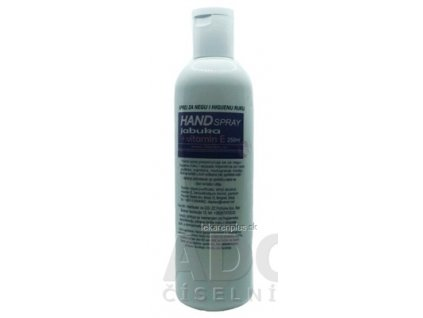 HAND SPRAY Jablko + vitamín E tekutina na dezinfekciu a hygienu rúk 1x250 ml