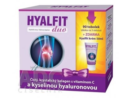 HYALFIT DUO darčekové balenie cps 90 ks + Hyalfit gél 50 ml ZDARMA, 1x1 set