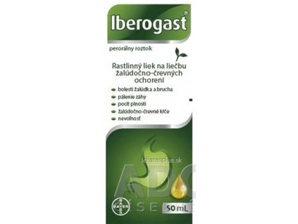 Iberogast sol por (fľ.skl.hnedá) 1x50 ml