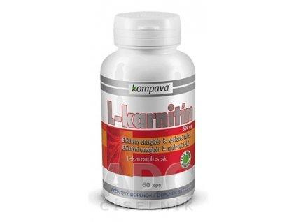kompava L-KARNITÍN 500 mg cps 1x60 ks