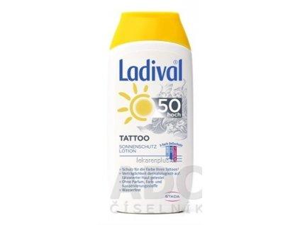 Ladival TATTOO SPF 50 mlieko na opaľovanie 1x200 ml