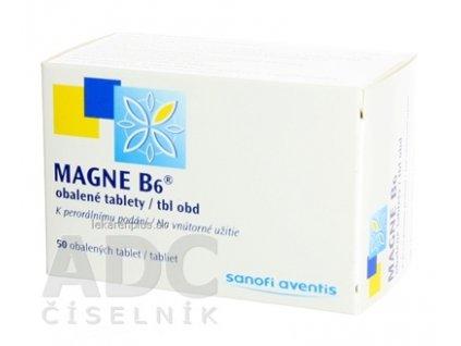 MAGNE-B6 tbl obd 470 mg/5 mg (blis.PVC/Al) 1x50 ks