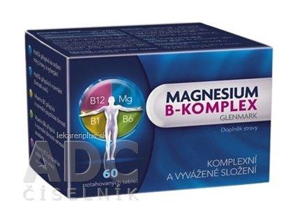 Magnesium B-komplex Glenmark tbl 1x60 ks