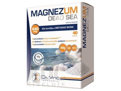 MAGNEZUM DEAD SEA - DA VINCI tbl 1x40 ks
