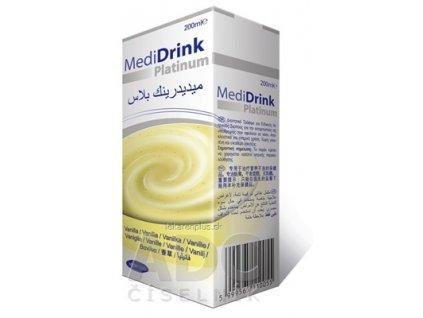 MediDrink Platinum príchuť vanilková 30x200 ml