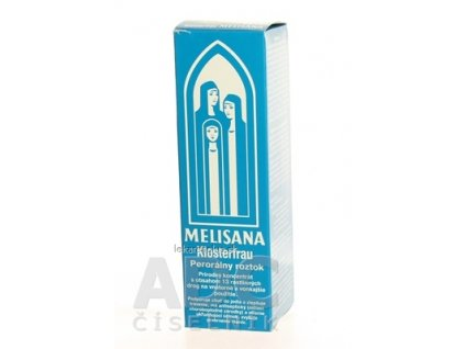 MELISANA Klosterfrau sol pdr (fľ.skl.) 1x95 ml