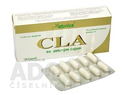 Naturica CLA so zeleným čajom cps 1x30 ks