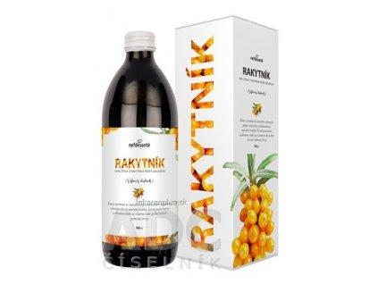 nefdesanté RAKYTNÍK šťava, s vitamínom C, 1x500 ml