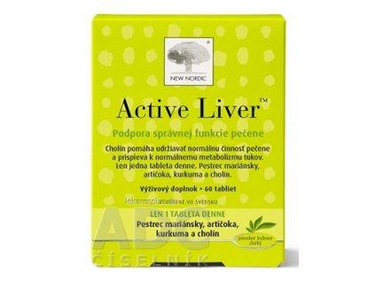 NEW NORDIC Active Liver tbl 1x60 ks