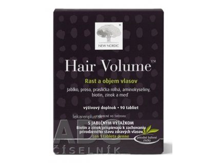 NEW NORDIC HAIR VOLUME tbl 1x90 ks