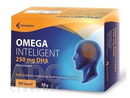 Noventis OMEGA INTELIGENT 250 mg DHA cps 1x60 ks