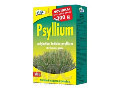asp Psyllium prírodná rozpustná vláknina 1x300 g