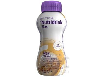 Nutridrink Max s príchuťou mocca 4x300 ml (1200 ml)
