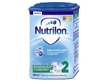 Nutrilon 2 následná mliečna dojčenská výživa v prášku (6-12 mesiacov) (inov.2018) 1x800 g