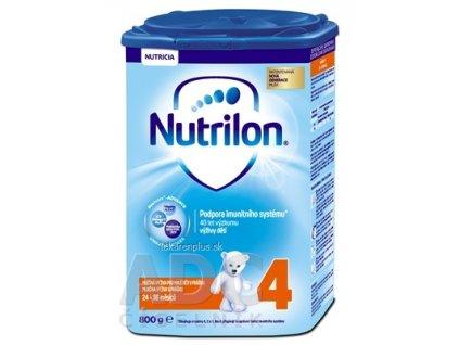 Nutrilon 4 batoľacia mliečna výživa v prášku (24-36 mesiacov) (inov.2018) 1x800 g