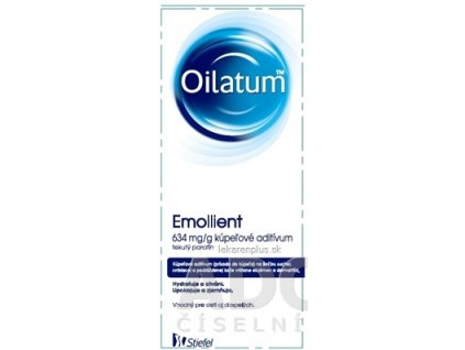 Oilatum Emollient add bal (fľ.PE) 1x500 ml