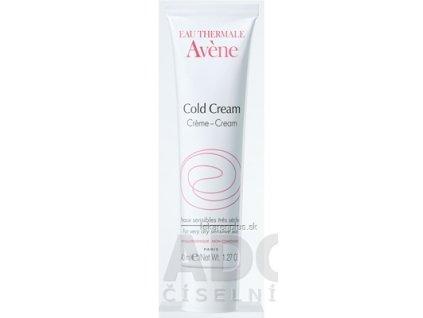 AVENE COLD CREAM krém na veľmi suchú citlivú pokožku 1x40 ml
