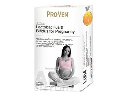 Pro-Ven Lactobacilus & Bifidus for Pregnancy cps 1x30 ks