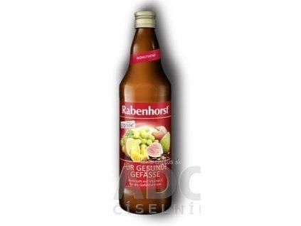 Rabenhorst VITESSE PRE ZDRAVÉ CIEVY ovocná šťava s vitamínmi a kakaovým extraktom 1x750 ml